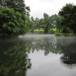 雨のニセコへ